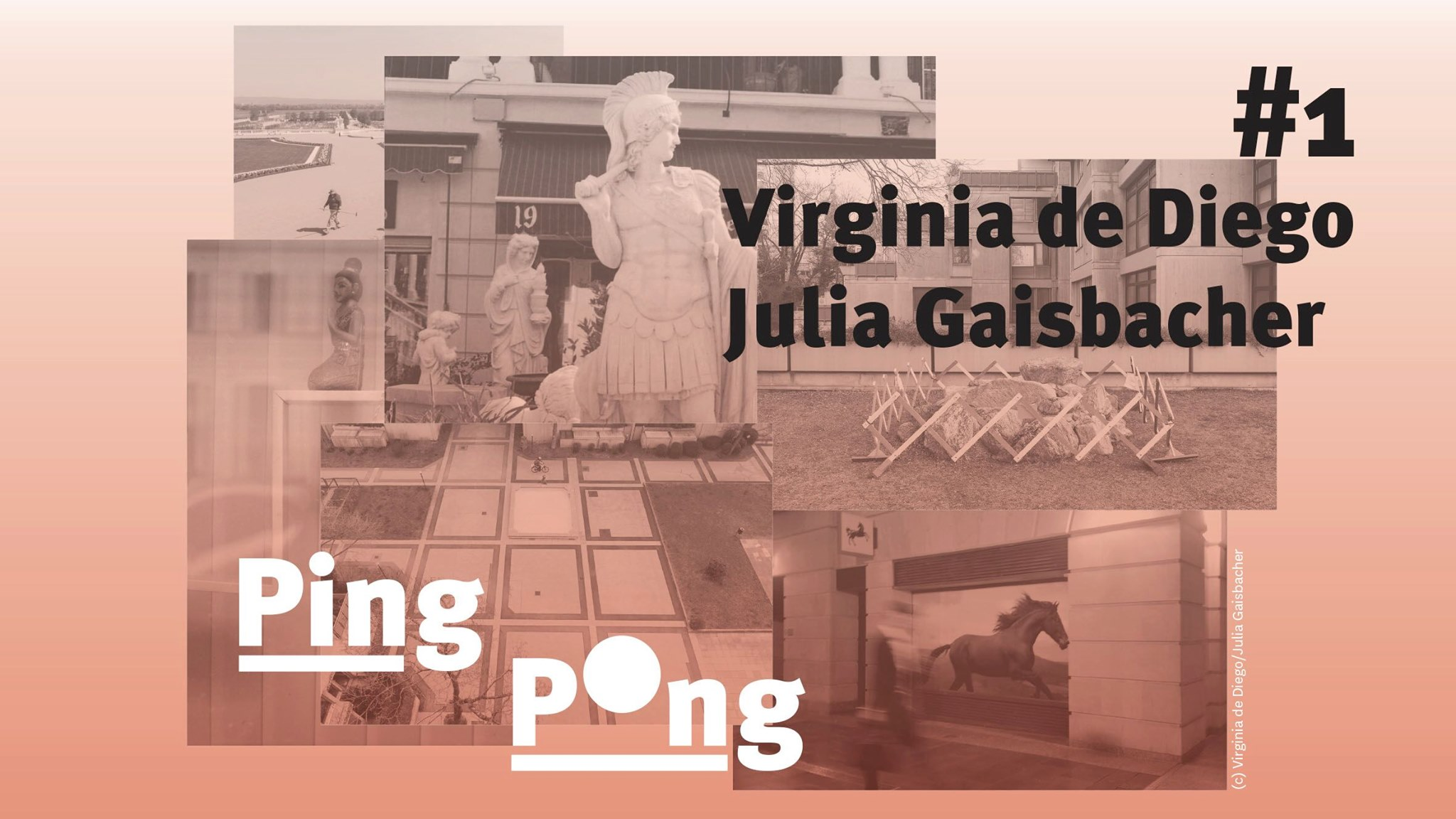 PING PONG #1 Virginia de Diego und Julia Gaisbacher