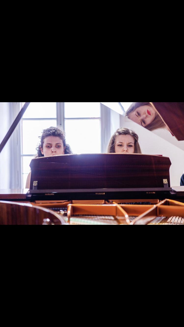 Junge Talente - Klavierduo Dyulgerova/Waglechner