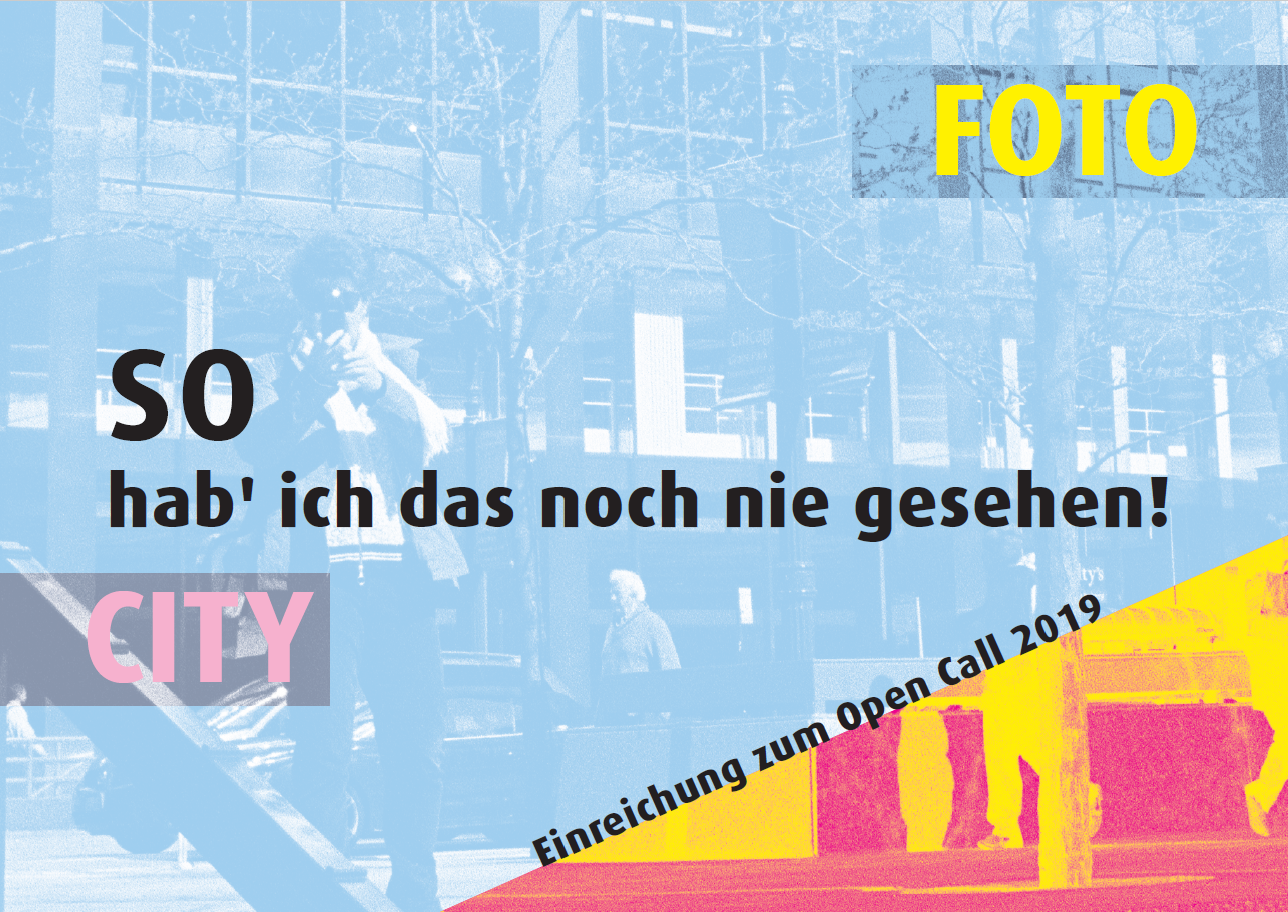 "Open Call "" Foto City"" in der Kunst VHS!"