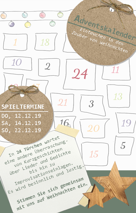 Theater Adventkalender!
