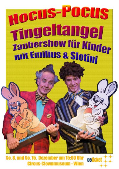 Hocus-Pocus-Tingeltangel / Zaubershow für Kinder