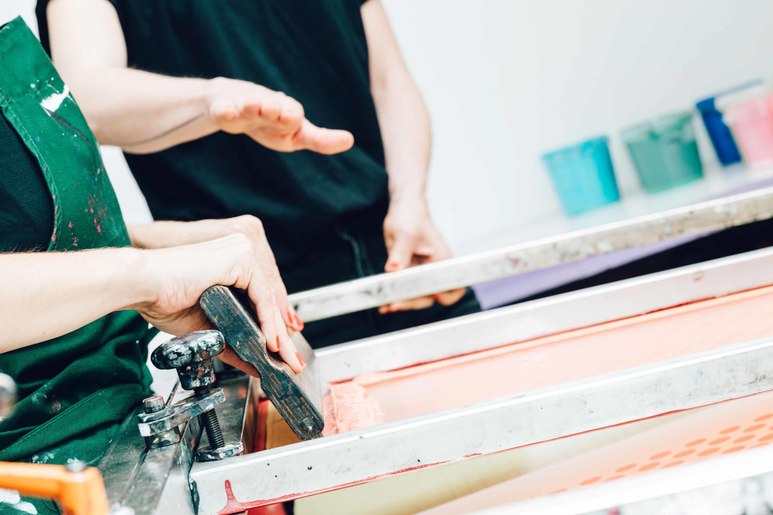 Siebdruckworkshop für AnfängerInnen